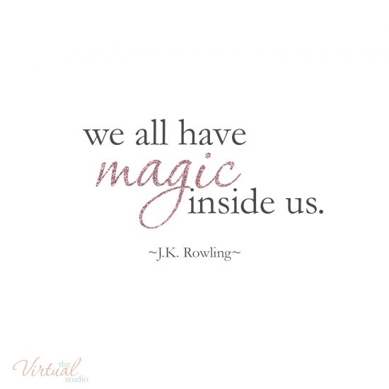 we all have magic inside us